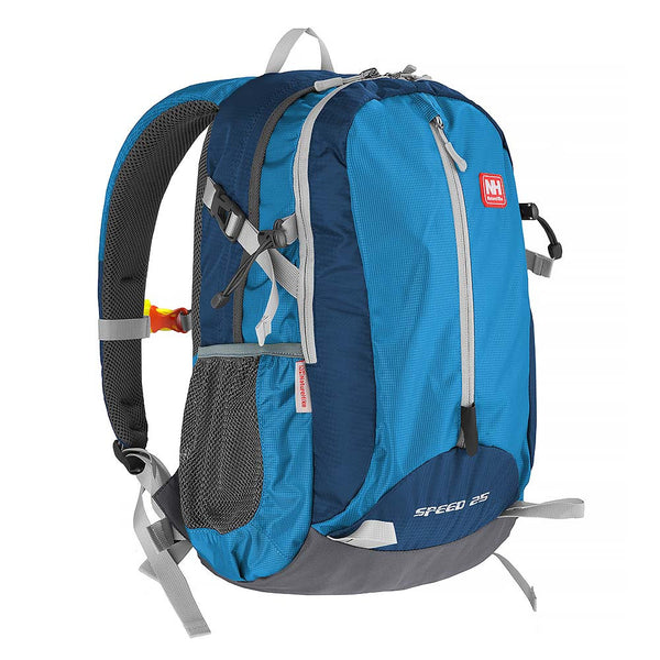 NatureHike 25L Lightweight Day Pack front view in blue