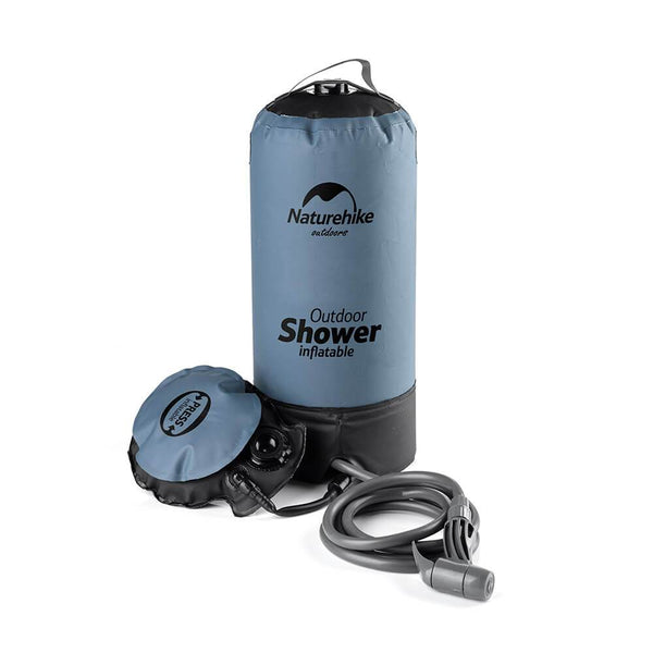 NatureHike Foot-pump operated Outdoor Shower (NH17L101-D)