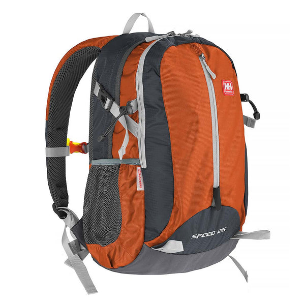 NatureHike 25L Lightweight Day Pack front view in sunburnt orange