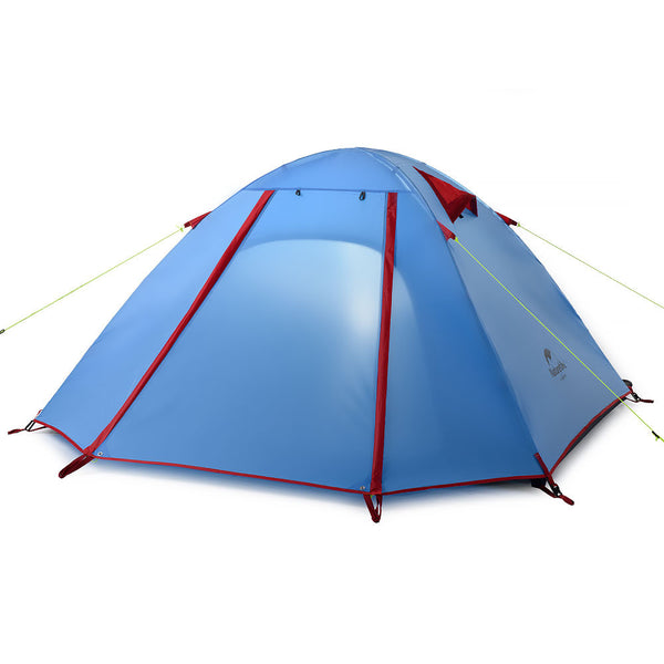 NatureHike 4 Man P Series Dome Tent in original blue