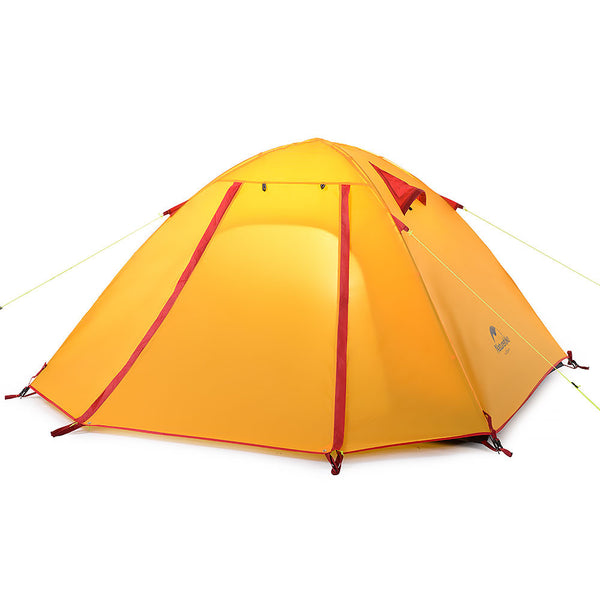 NatureHike 4 Man P Series Dome Tent in Orange