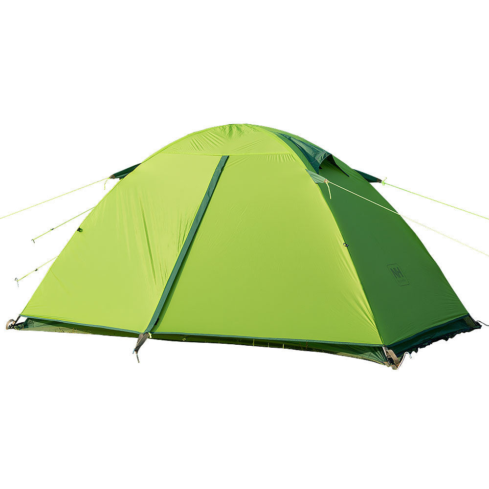 NatureHike 2 Man Ultralight Silicone Tent in Green