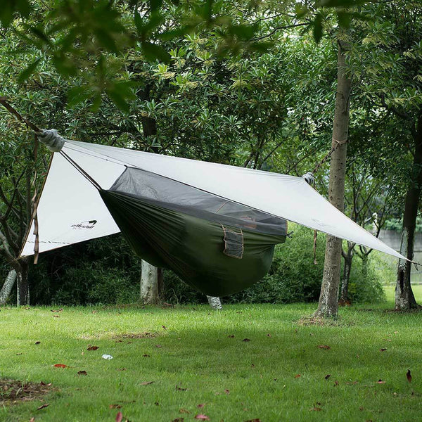 Hammock Tent - NatureHike Wind Cloud Ultralight One Man Hammock Tent (DZ15D001)
