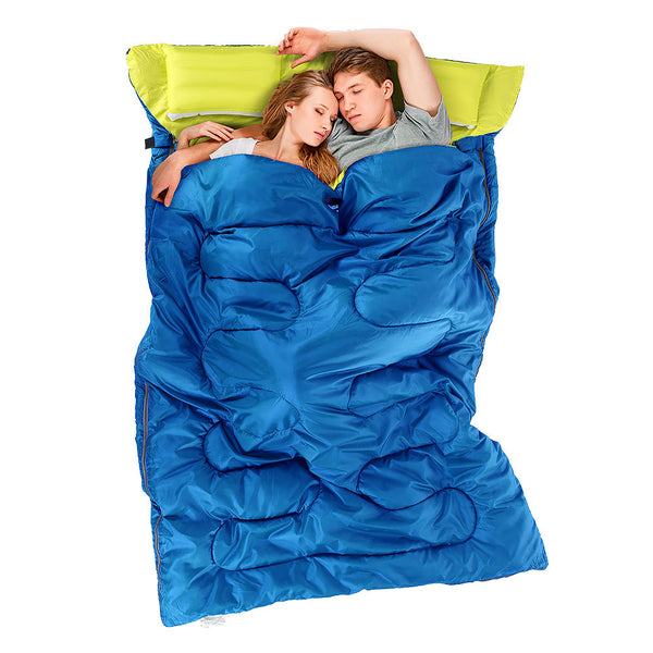 Sleeping Bags - NatureHike Double Sleeping Bag With PILLOW (SD15M030-J)