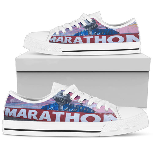 Nipsey Mural Womens Low Top - StereoTypeTees
