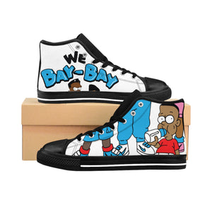Bay Bay Kids Mens Canvas Kicks - StereoTypeTees