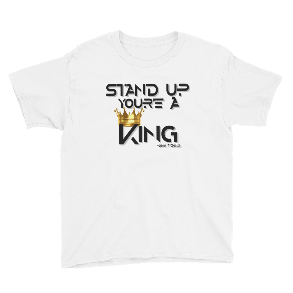 Stand Up King (Youth) - StereoTypeTees