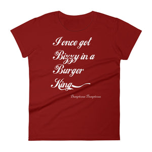 Once Got Bizzy (Ladies) - StereoTypeTees