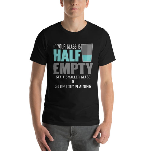 Glass Half Empty - StereoTypeTees