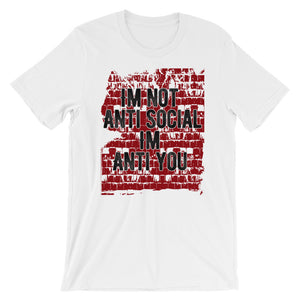 Anti You (Red) Unisex Tee - StereoTypeTees