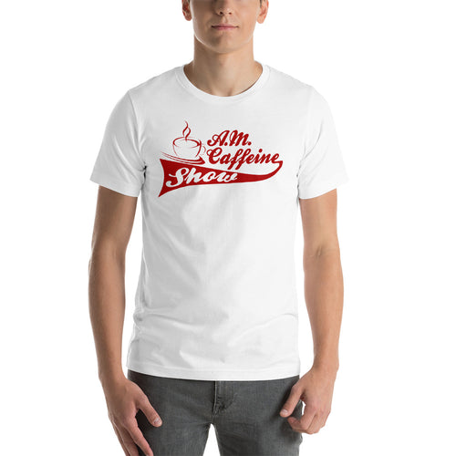 A.M. Caffeine (Red) Logo - StereoTypeTees