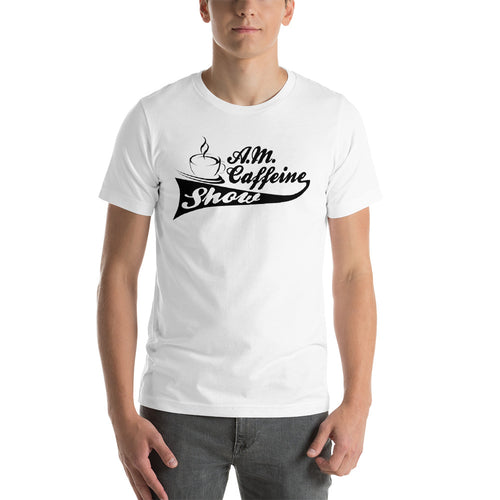 A.M. Caffeine (Black) Logo - StereoTypeTees