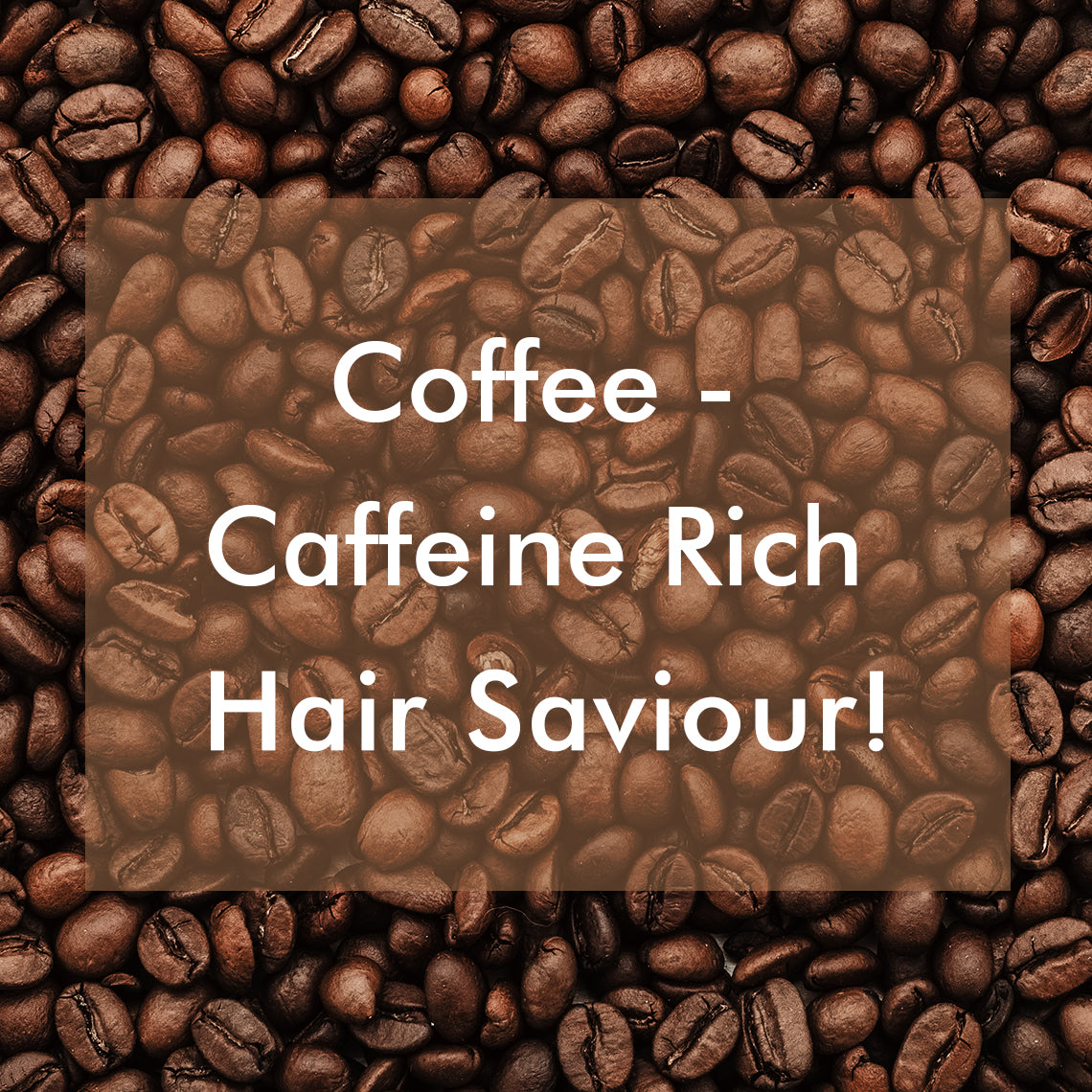 Coffee for Hair - Benefits of Caffeine for Hair