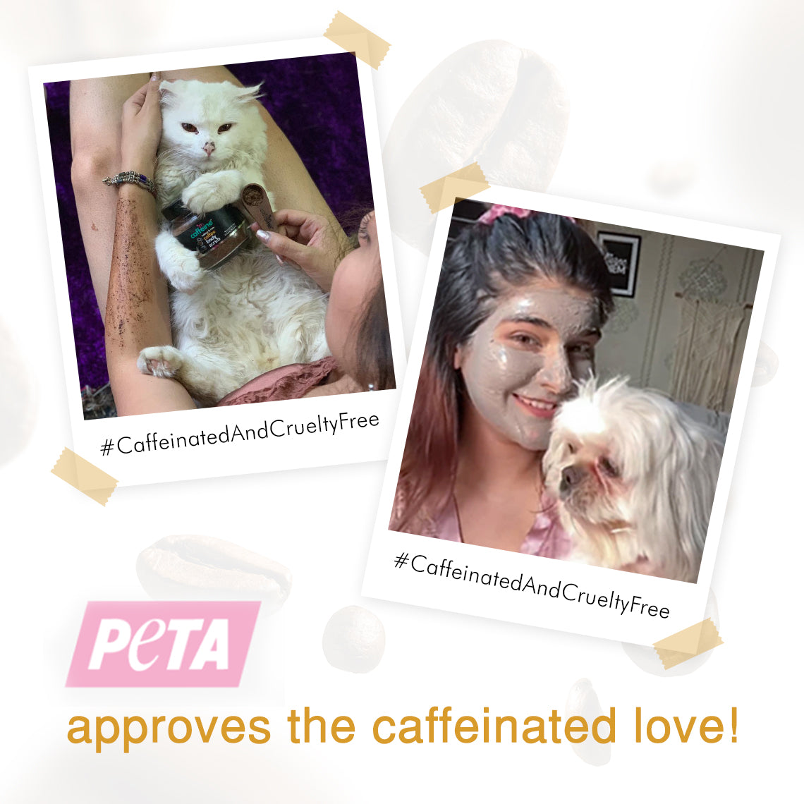We just got PETA Certified!