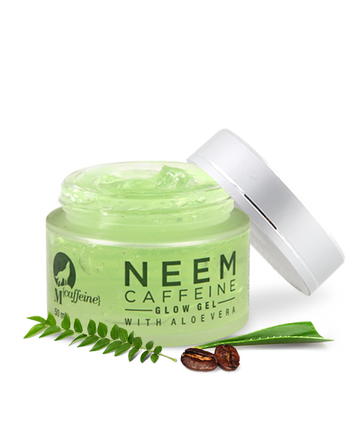 Neem Caffeine Glow Gel with Aloe Vera, All Skin Types