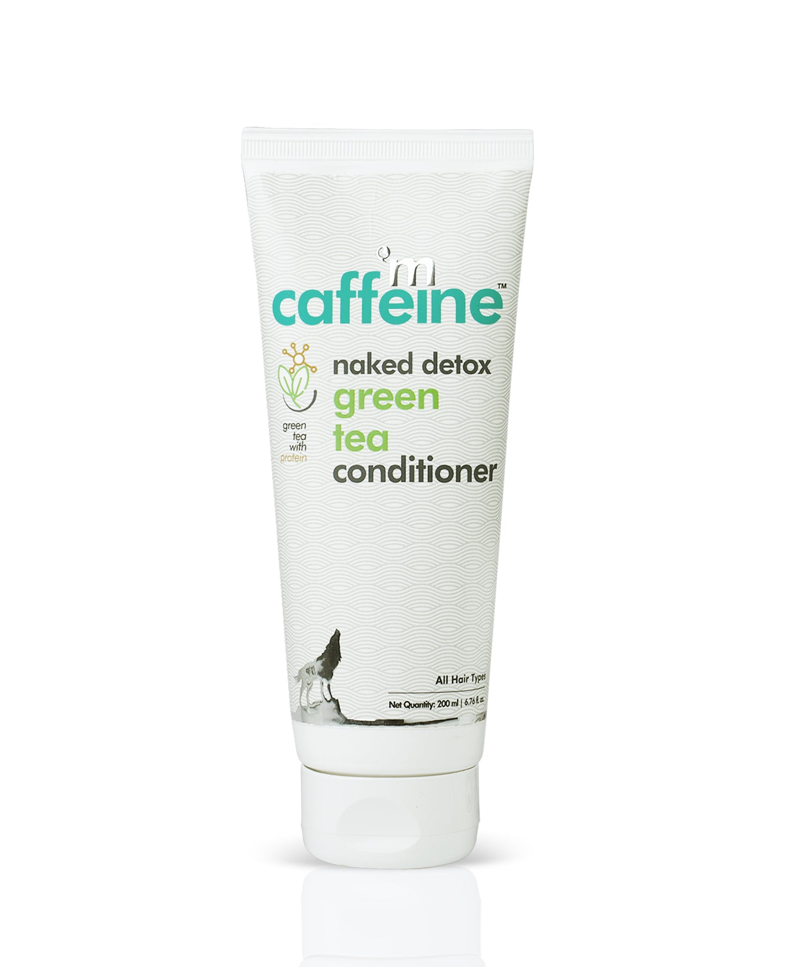 Naked Detox Green Tea Conditioner with Protein, 200 ml - SLS & Paraben Free