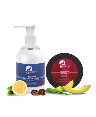 Face Radiance Kit - Caffeine Face Wash + Caffeine Face Cream
