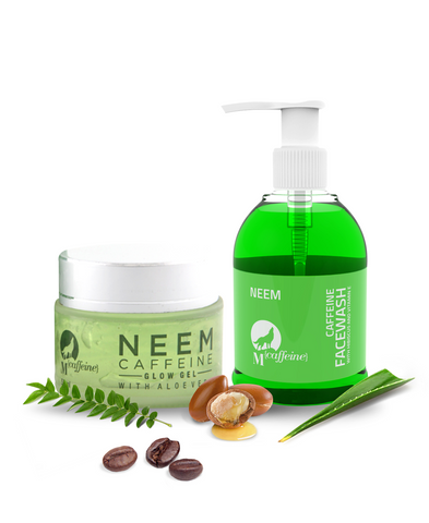 Neem-Caffeine Care Kit (Neem Caffeine Face Wash & Neem Caffeine Glow Gel)