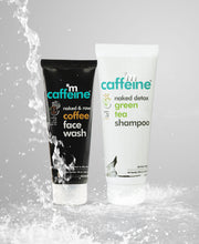 Daily Cleansing Kit (Coffee Face Wash & Green Tea Shampoo)