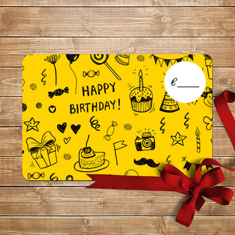 Birthday Digital Gift Card - Email Delivery