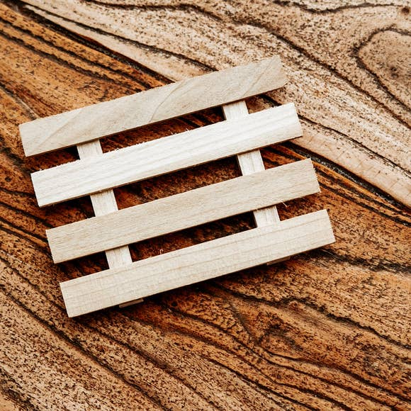 Upcycled Wood Soap Dish