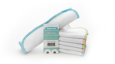 Thirsties Organic Cotton Wipes