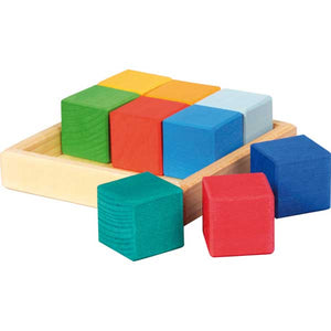 Glückskäfer Quadrat Building Set Cubes