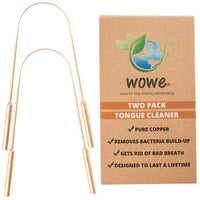 Wowe Pure Copper Tongue Cleaner 2 Pack