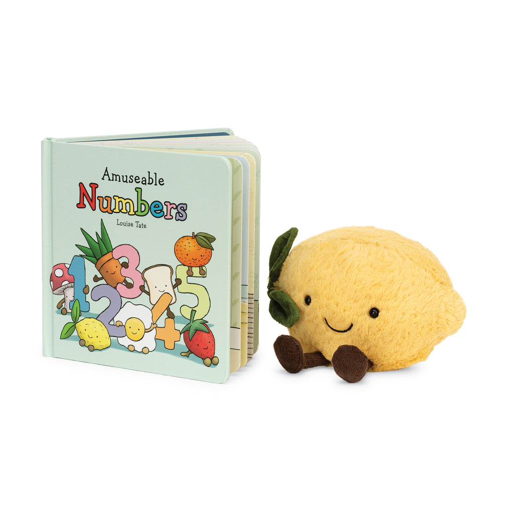 Jellycat Amusable Numbers Book