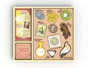 BEGIN AGAIN ARTY FACTS SHAPING HISTORY VOL1 - ART KIT & STENCIL SET