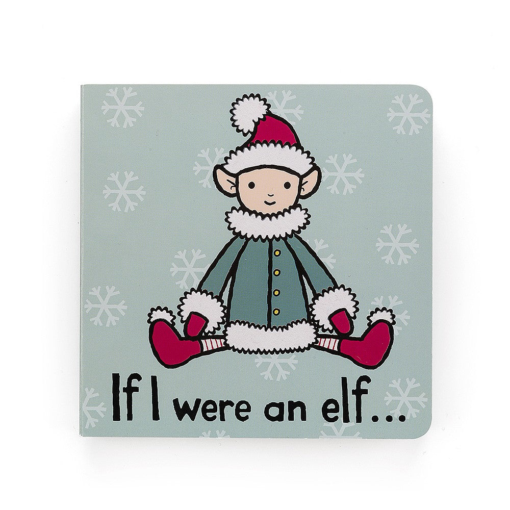 Jellycat If I Were An Elf Book