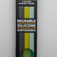 GoSili Reusable Silicone Straws - Packs