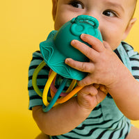 Baby Banana Lil' Squish Jellyfish Teething Rattle