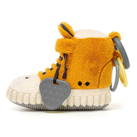 Jellycat Kicketty Sneaker Activity Toy