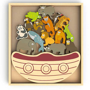 Begin Again Balance Boat  - Endangered Animals Game