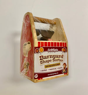 Begin Again Toys Barnyard Shape Sorter