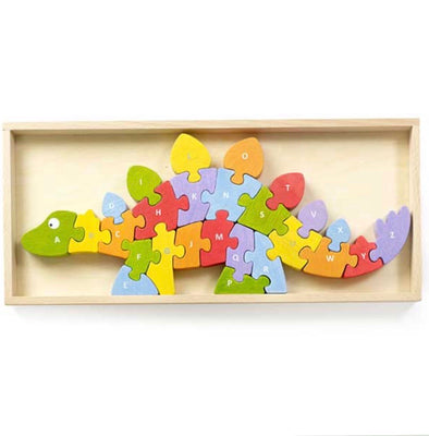 Begin Again Toys Dinosaur A-Z Puzzle