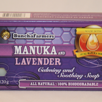 BunchaFarmers Calming and Soothing Bar Soap