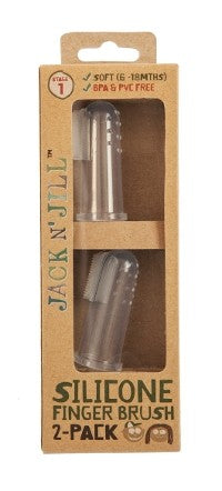 JACK N' JILL SILICONE FINGER BRUSH