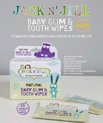 Jack N' Jill Baby Gum & Tooth Wipes (25) Count