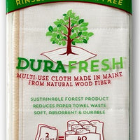 DURAFRESH Bacteria Fighting Multi-purpose Cloth 2 pk