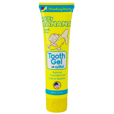 Baby Banana Tooth Gel - Strawberry Banana