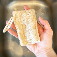 Loofah Dish Sponges: Double Layer 3-Pack