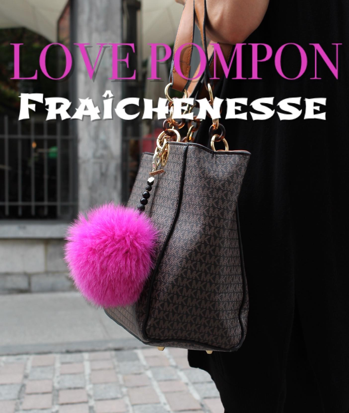 Fashion Hand Bag  | Love Pompon
