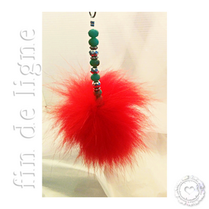 Love Pompon | Pompon Rouge - Elle Love
