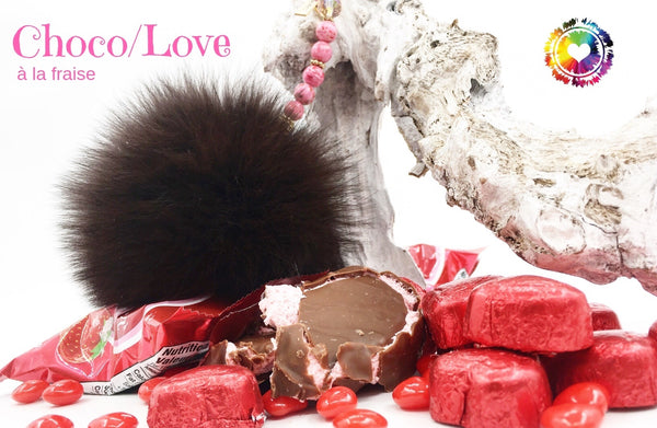 Pompon | Fourrure Brune - Choco.Love