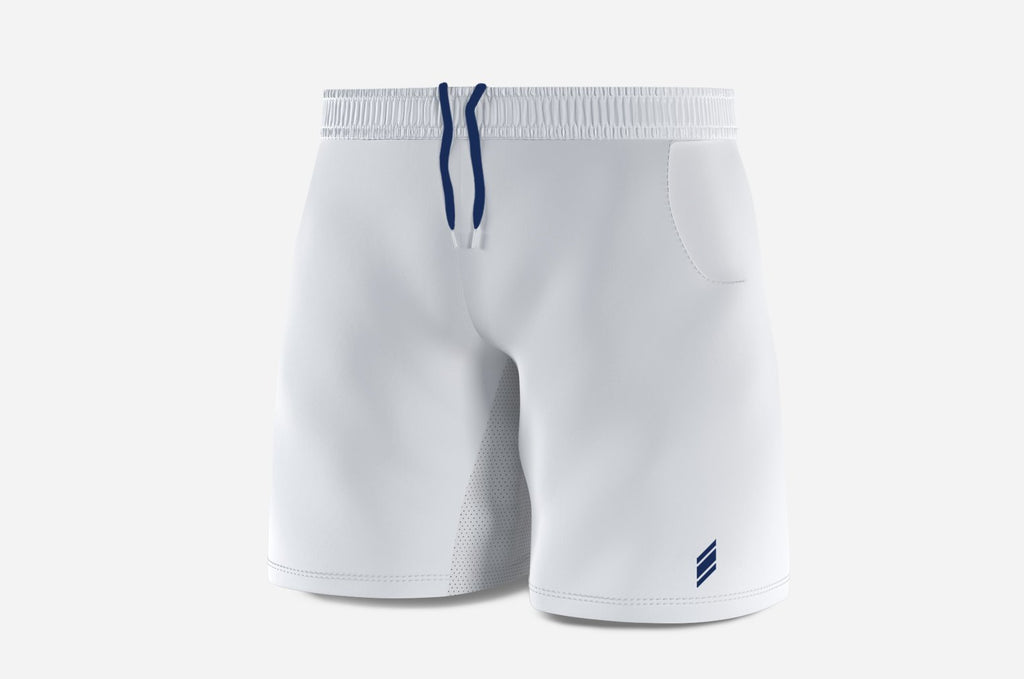 Shorts (white/navy)