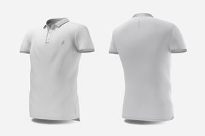Polo (white/light grey)