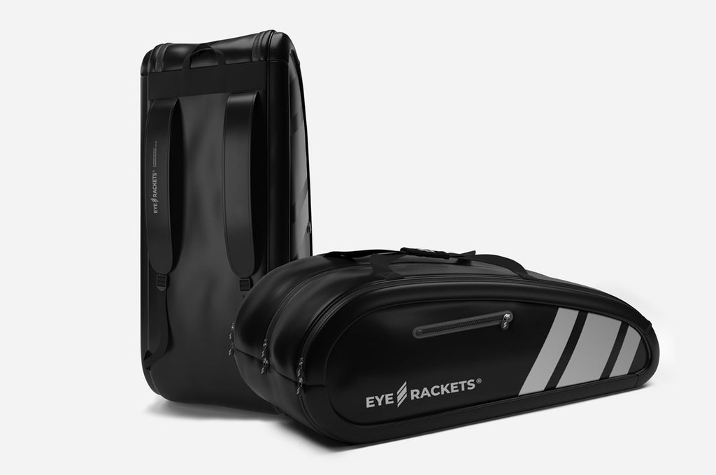 Racket Bag (Black/Light Grey)