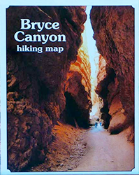 Bryce Canyon Hiking Map